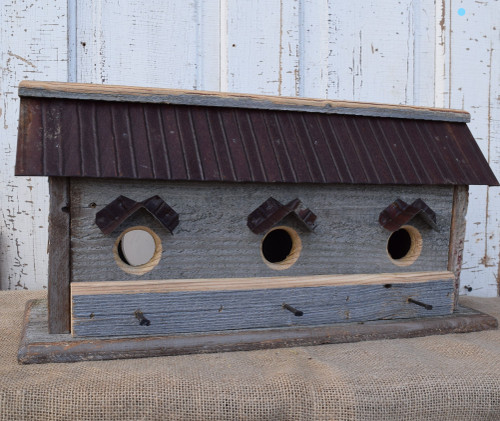 Birdhouse Weathered