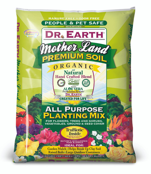 Dr. Earth Motherland All Purpose Planting Mix - 1.5 cf