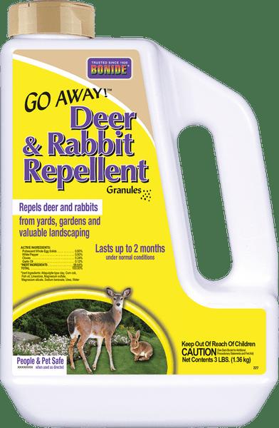 Go Away!® Deer ad Rabbit Repellent Granules - 3 lb