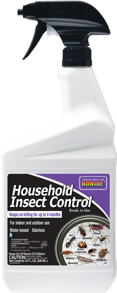 Household Insect Control Ready-To-Use - 32 oz