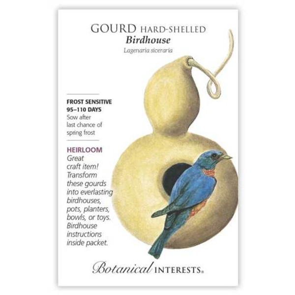 Birdhouse Hard-Shelled Gourd Seeds Heirloom
