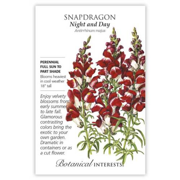 Night and Day Snapdragon Seeds