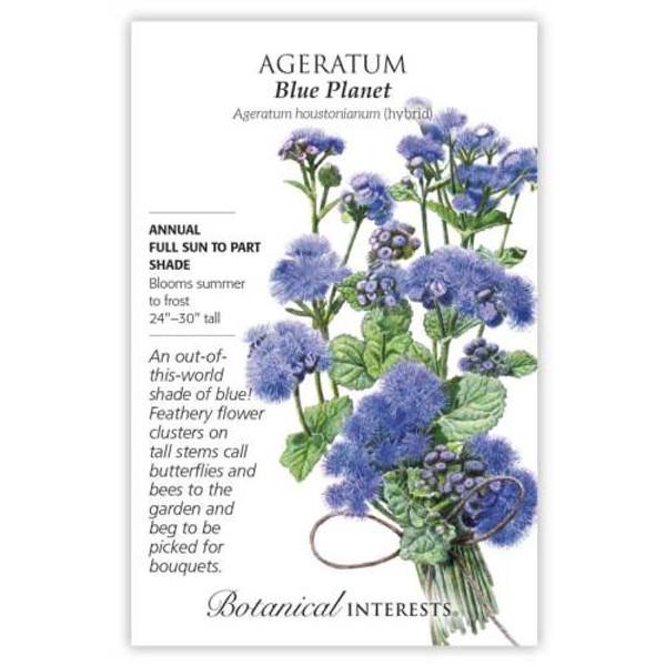 Blue Planet Ageratum Seeds