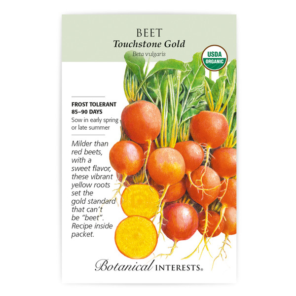Touchstone Gold Beet Seeds Organic