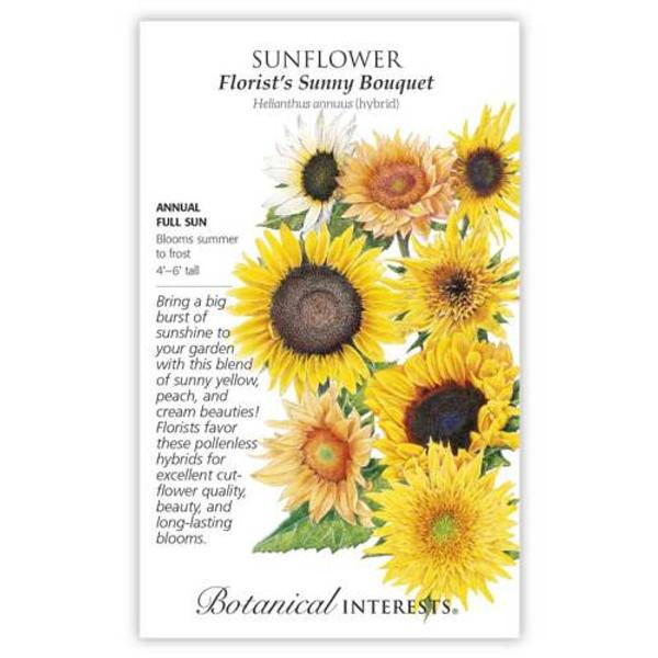 Florist's Sunny Bouquet Sunflower Seeds
