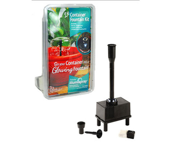 Container Fountain Kit W/Light