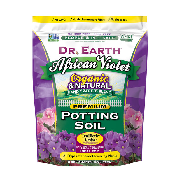 Dr. Earth African Violet Mix - 8 qt