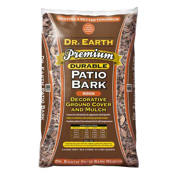 Dr. Earth Medium Deco Bark Nuggets - 2.0 cf