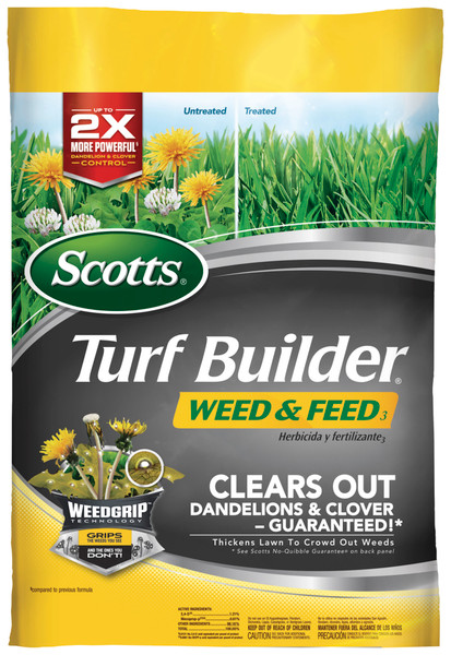 Scotts 5M Turf Builder Weed and Feed - 14.29 Lb