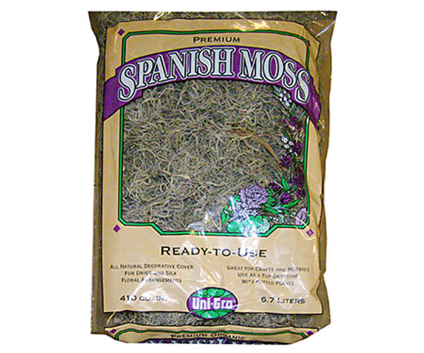Spanish Moss - 410 cubic inches