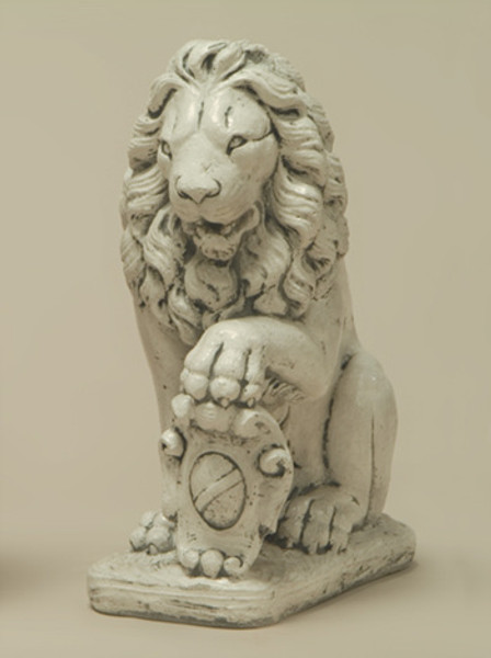 Lion with Shield, Left Paw