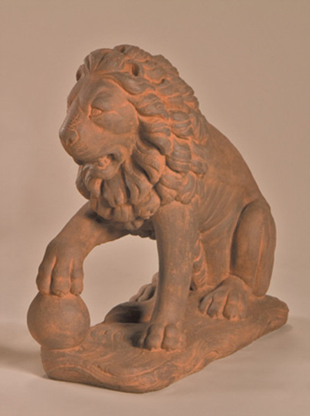 Lion with Ball, Right
