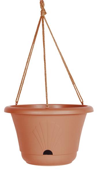 Bloem Hanging Basket Terra Cotta Plastic - 13 inch