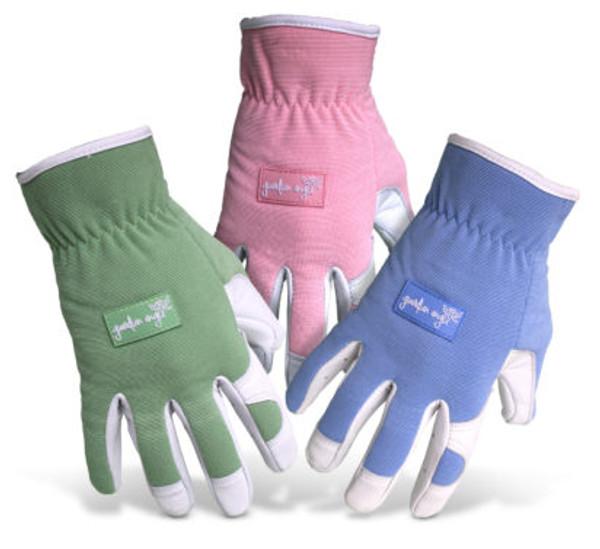 Boss® Ladies' Guardian Angel™ Goatskin Leather Palm Green/Blue/Pink Gloves