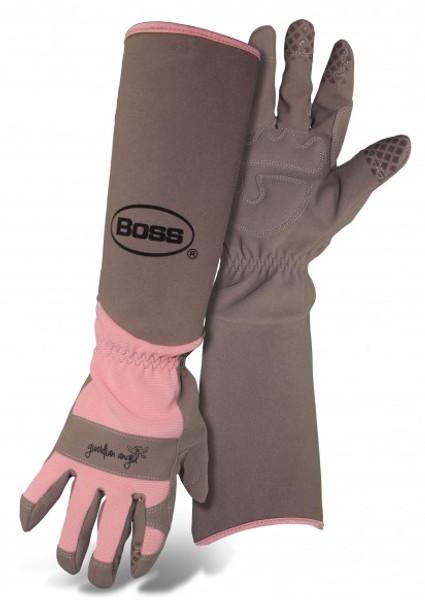 Boss® Guardian Angel Extended Sleeve Ladies' Garden Gloves  - Coral - Medium