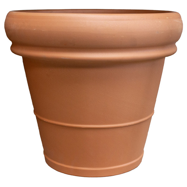 Terra Cotta Heavy Rimmed Pot - 15.75 inch