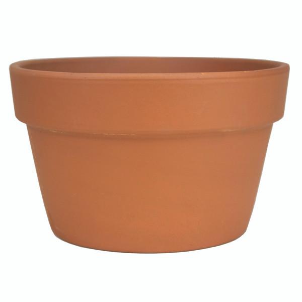 Glazed Ceramic Terra Cotta Fern Azalea Pot - 8.5 inch