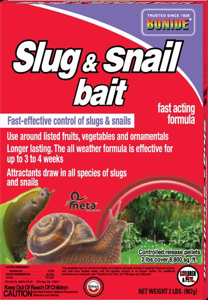 Slug & Snail Bait Granules - 2 lbs