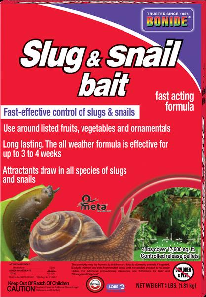 Slug & Snail Bait Granules - 4 lbs