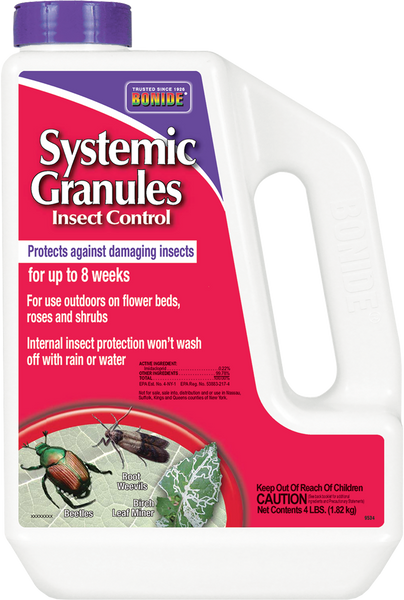 Systemic Insect Control Granules - 4 lbs