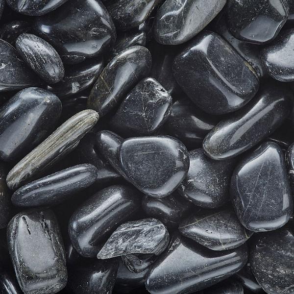 Black Pebbles Deco Jar - 1.5 lb