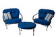 Brantley 3 piece Seating Group - Blue