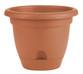 Bloem Lucca Planter Terra Cotta Plastic - 10 inch