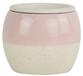 Glazed Ceramic Amara Two Tone Self Watering Planter Coral - 6 inch