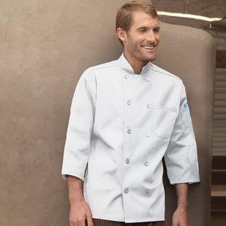 Classic 3/4 Sleeve Chef Coat - Clearance