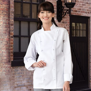 Executive 12 Knot Button Chef Coat - Clearance