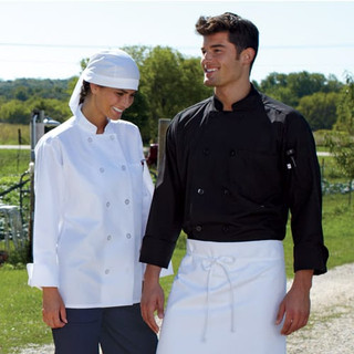 Classic Poplin Chef Coat - Clearance