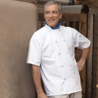 Classic Short Sleeve Chef Coat - Clearance
