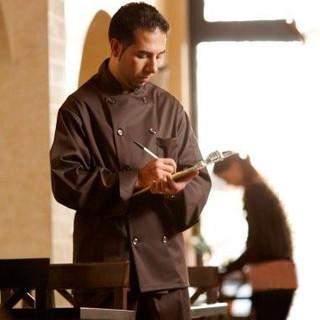 Classic Mocha Chef Coat