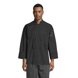 Classic Poplin Chef Coat with Mesh Back by Uncommon Threads