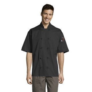 Antigua Chef Coat with Mesh Back by Uncommon Threads
