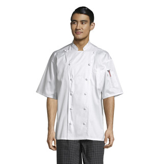 Short Sleeve Master Chef Coat by Uncommon Threads