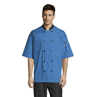 Havana Chef Coat with Tonal Mesh Back by Uncommon Threads