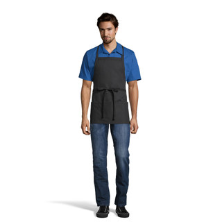 Adjustable 3-Pocket Bib Apron by Uncommon Threads