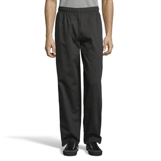 Classic Chef Pants with 2 inch Waist, Cotton by Uncommon Threads