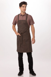 Denver Cross-Back Bib Apronby Chef Works