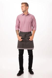Soho Contrast Half Bistro Apronby Chef Works