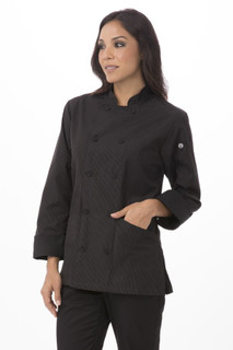 Womens Carlisle Executive Chef Coatby Chef Works