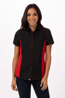 Womens Universal Contrast Shirt by Chef Works