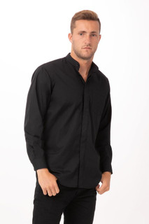 Banded Collar Shirtby Chef Works