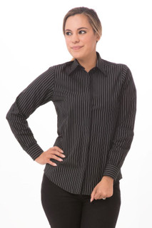 Womens Onyx Dress Shirtby Chef Works