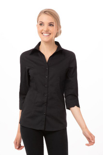 Womens Finesse Shirtby Chef Works