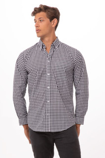 Gingham Dress Shirtby Chef Works