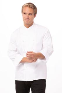 Milan Premium Cotton Chef Coatby Chef Works