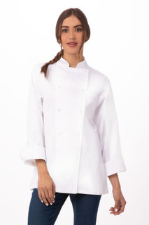 Elyse Premium Cotton Chef Coatby Chef Works