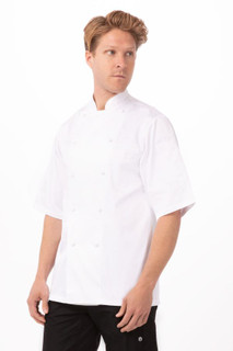 Capri Premium Cotton Chef Coatby Chef Works